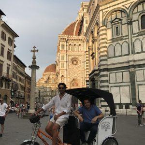 rickshaw tour florence